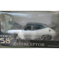 Models 56 XC Falcon coupe blue/silver 1/24